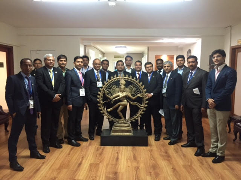 Delegation at the Indian Embassy- Washington DC.
