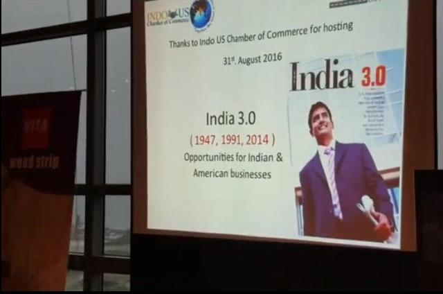 India 3.0 talk in USA