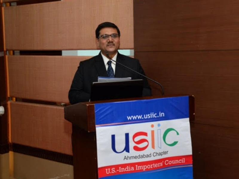 At USIIC opening in Amdavad